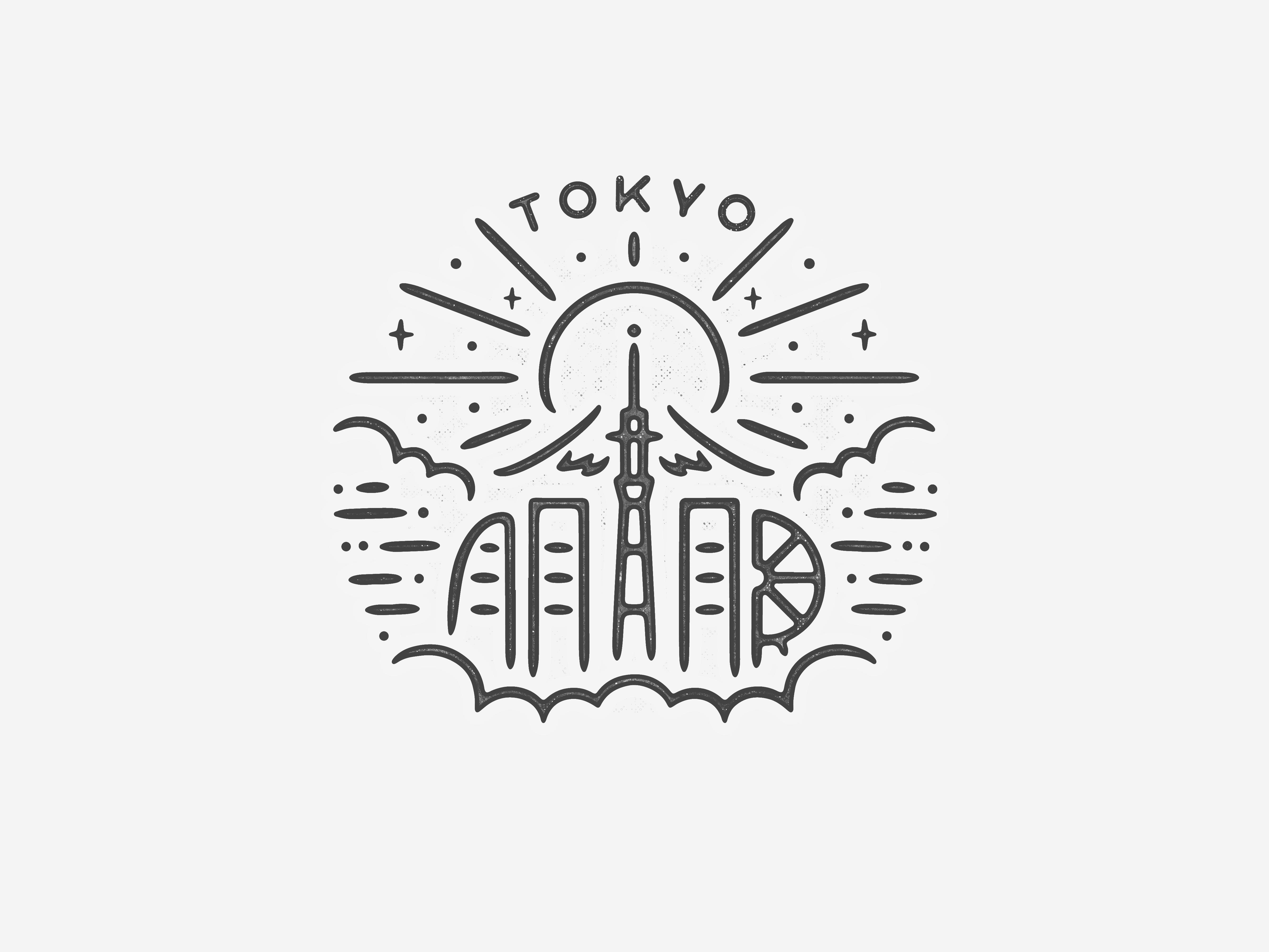 Tokyo dribbble
