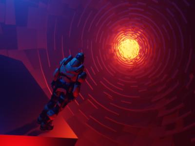 Blender Alien Sphere