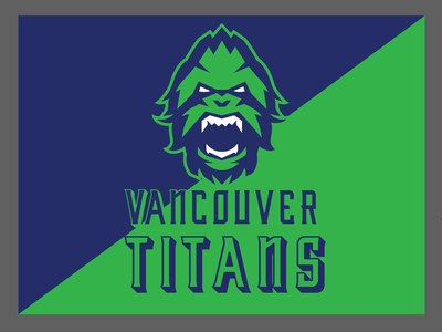 Testing new font on the logo @vancouvertitans