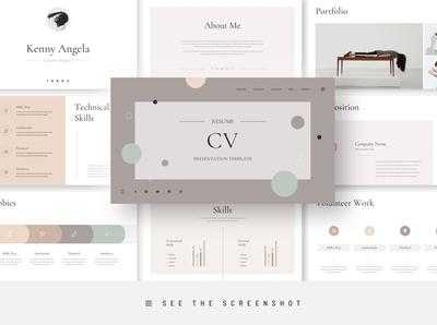Resume CV PowerPoint Presentation