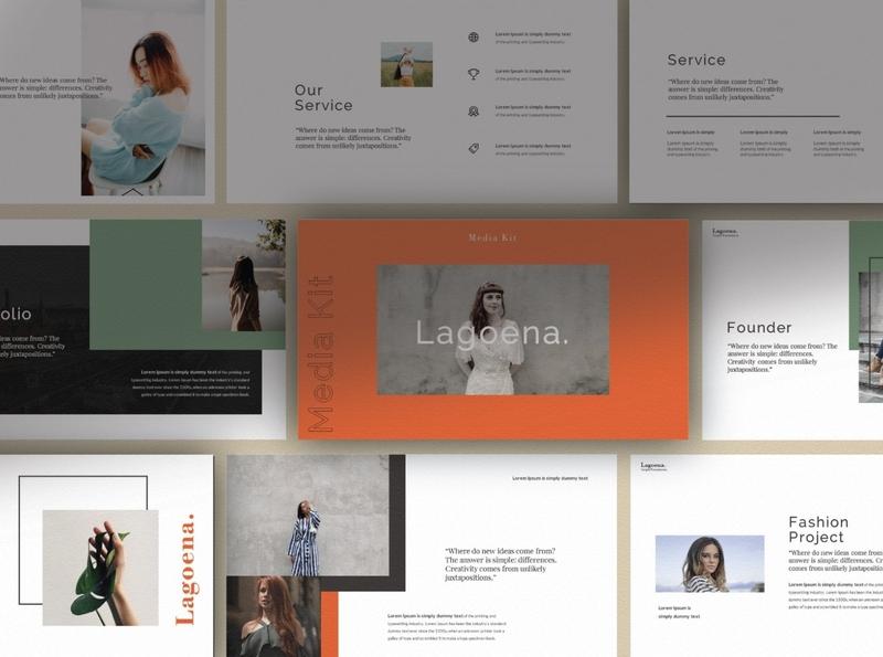 Lagoena Brand Google Slide
