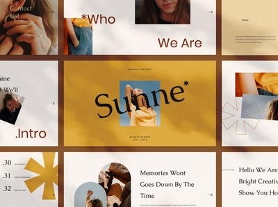 Sunne Google Slides multipurpose business clean minimal modern slides professional simple agency concept development web development web design website corporate presentation template google slide template google slides google slide