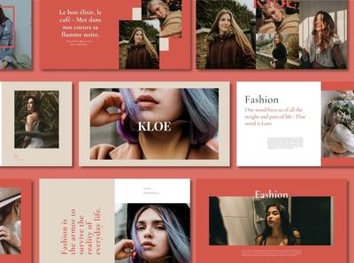 The Kloe - Keynote slides slide portfolio fonts font professional elegant simple creative presentation business clean minimal modern design corporate branding keynote template template keynote