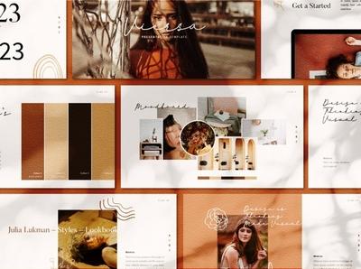 VIERSA Googleslide Template minimalist style fashion blog blogger business clean minimal modern simple agency development web development web design website corporate presentation template google slides template google slides google slide