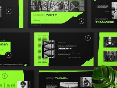 Shine & Bright Google Slide web development web design website powerpoint elegant creative business clean minimal modern professional simple agency corporate presentation template google slides google slide bright shine
