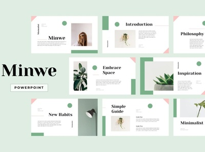 MINWE - Minimalist PowerPoint powerpoint templates corporate identity powerpoint design powerpoint presentation minimalism professional templates elegant simple creative business clean modern minimalist corporate presentation template powerpoint template powerpoint minimal