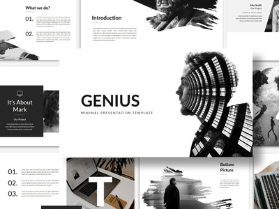 Genius - PowerPoint Template agency website development company development agency powerpoint presentation template powerpoint templates modern minimal simple agency concept development web development web design website corporate presentation powerpoint presentation powerpoint template template powerpoint
