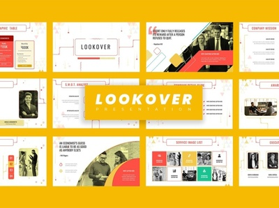Lookover - Google Slide Template concept powerpoint creative business clean minimal modern google slide template simple design development web development web design website corporate presentation template google slides template google slides google slide