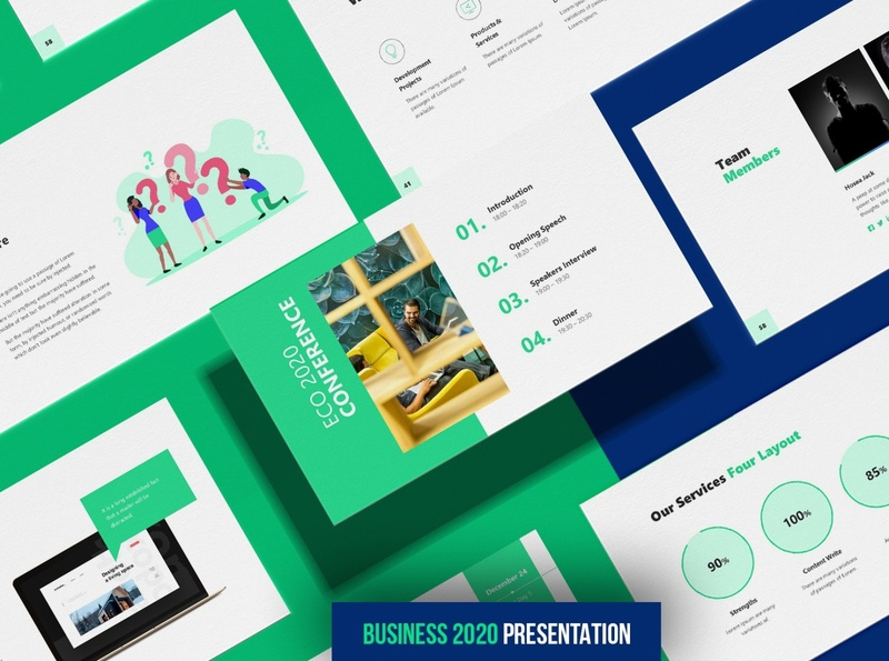 Business 2020 - Smooth Animated Powerpoint Template luxury design trending super animation professional simple agency concept development web development web design website corporate powerpoint presentation powerpoint template template powerpoint animated smooth