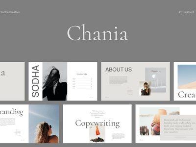 CHANIA- Powerpoint Template concept web development web design website templates professional elegant simple creative presentation business clean minimal modern template powerpoint templates powerpoint design powerpoint presentation powerpoint template powerpoint