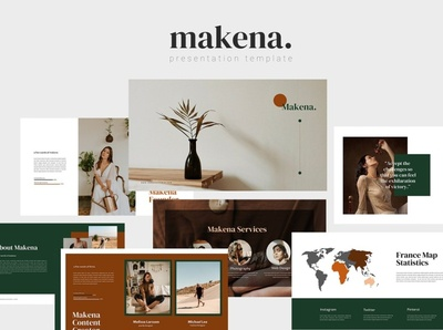 Makena - Powerpoint Template web development web design website professional elegant simple creative presentation business clean minimal modern template design templates powerpoint templates powerpoint design powerpoint presentation powerpoint template template powerpoint