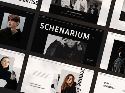 Schenarium Keynote web development web design website corporate presentation business clean template modern logo keynote design keynote template keynote slides slide lookbook modern minimal project pitching lookbook slides business presentation