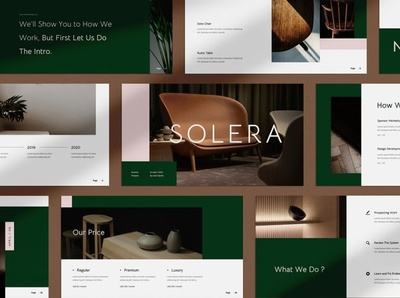 Solera Google Slides pitching powerpoint elegant clean minimal template design templates modern simple business concept development web development web design website google slides template template google slide template google slides google slide