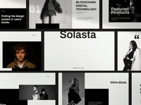 Solesta - Google Slide web design website google slide template happy stylish minimal user interface ux ui professional simple agency responsive multipurpose logo design creative design google slides google slide creative