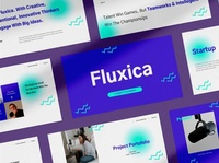 Fluxica Keynote project pitch elegant creative business clean minimal modern professional simple agency concept development web development web design website corporate presentation template keynote template keynote
