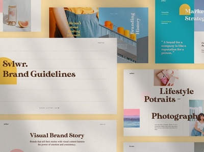 SVLWR - Keynote Brand Guidelines web development web design website simple creative business clean minimal modern template branding guidelines branding brand guidelines brand presentation keynote presentation keynote templates keynote design keynote template keynote