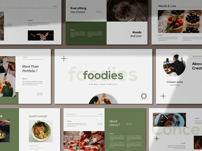 Foodies Powerpoint Template concept development web development web design website simple creative presentation business clean minimal modern template design templates powerpoint templates powerpoint design powerpoint presentation powerpoint template template powerpoint