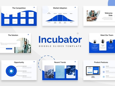 Incubator Google Slides Template art agency concept web development web design website corporate professional simple creative presentation business clean minimal modern template google slide template google slides template google slides google slide