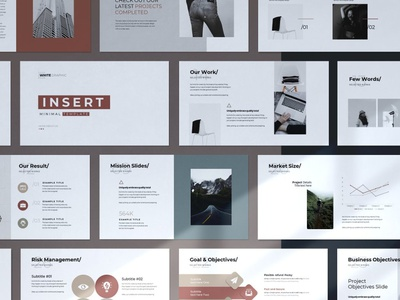 Insert Modern PowerPoint Template elegant creative presentation business clean minimal art simple agency concept development web development web design website templates template powerpoint template powerpoint modern insert