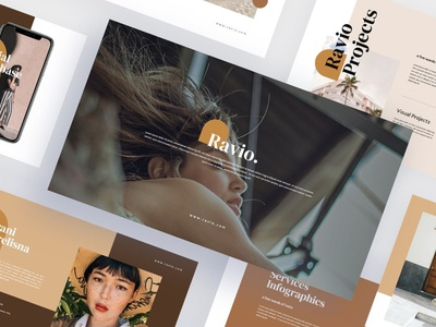 Ravio - Fashion Keynote Template fashion illustration creative presentation business clean minimal modern fashion brand simple agency concept web development web design website templates keynote templates keynote template template keynote fashion