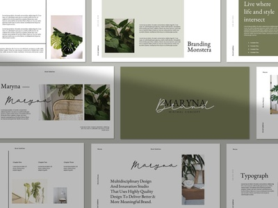 Maryna Google Slide Template company corporate concept web development web design website professional elegant simple creative presentation business clean minimal modern google slides template template google slide template google slides google slide