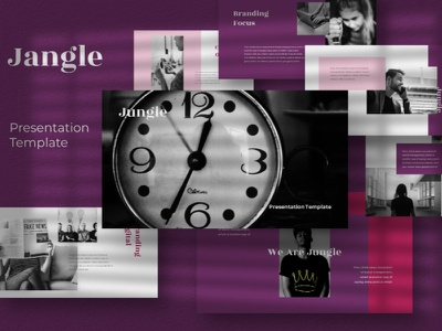 Jungle Google Slide Template digital art multipurpose web design professional elegant simple creative business clean minimal modern website design google slides template website corporate presentation template google slide template google slides google slide