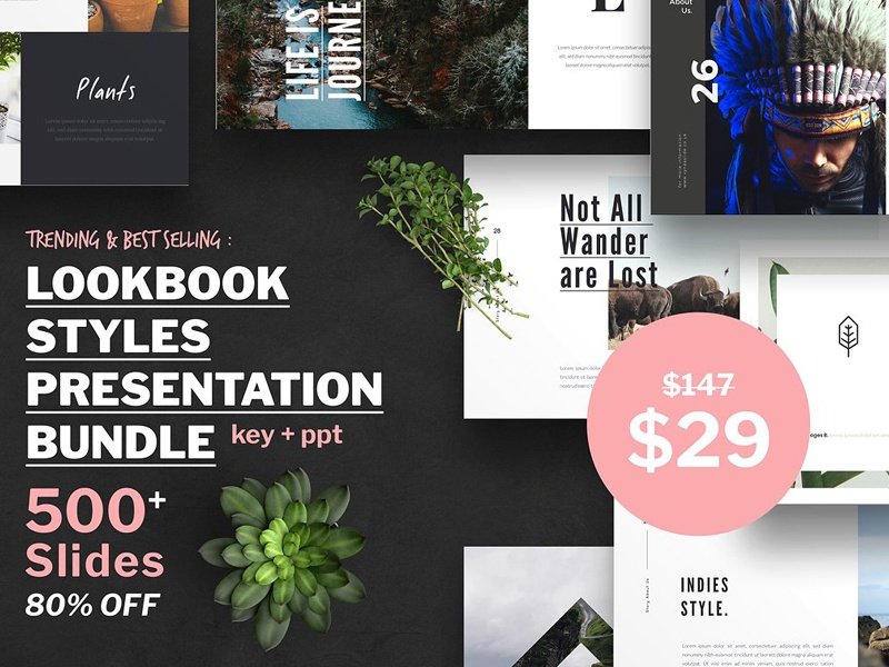 lookbook style presentation bundle by templates dribbble dribbble