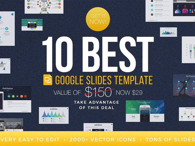 best google slides templates bundle by templates dribbble dribbble