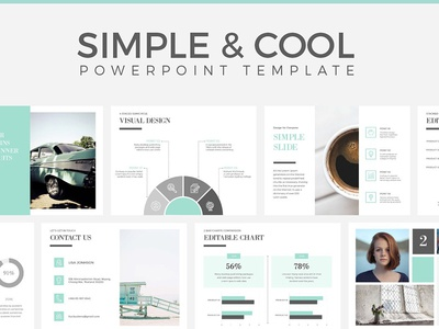 Simple & Cool PowerPoint Template simple template simple powerpoint template design presentation design modern presentation minimal presentation presentation template simple cool cool powerpoint template powerpoint template powerpoint