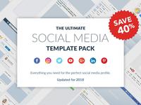 Ultimate Social Media Template Pack