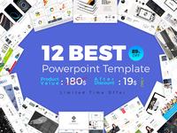 Best 12 PowerPoint Template Bundle