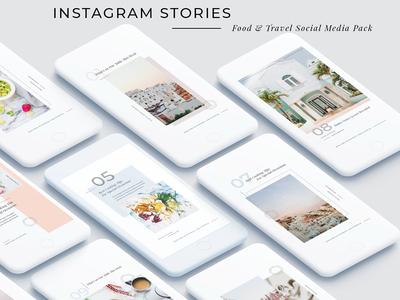 FREE Download - Food & Travel Instagram Stories Pack