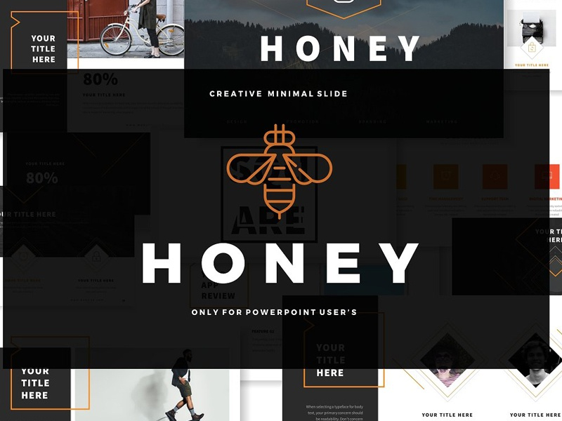 Honey Business Point Template