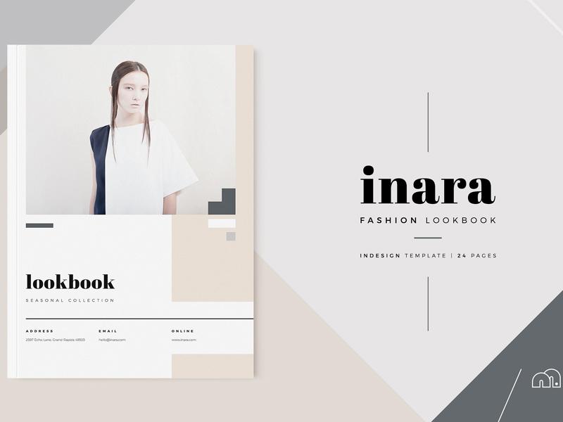 lookbook inara by templates dribbble dribbble