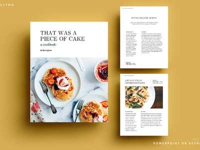 R2 Ebook Template Powerpoint Keynote by Templates - Dribbble