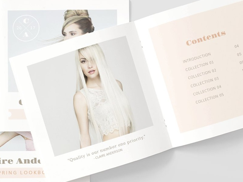 fashion design lookbook template by templates dribbble dribbble