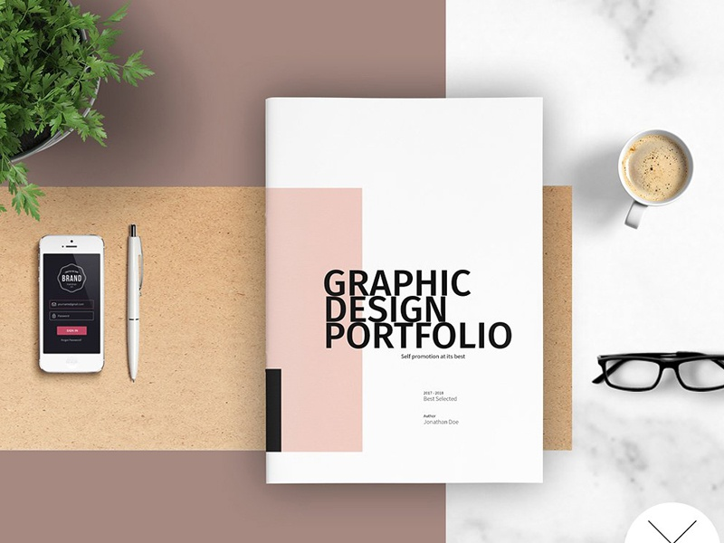 Graphic Design Portfolio Template By Templates On Dribbble