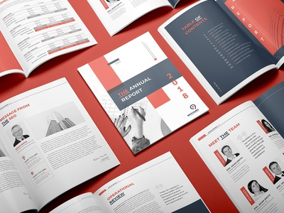 Annual Report 24 Pages proposal infographic marketing modern business brochure company brochure abstract us letter brochure clean report report annual report