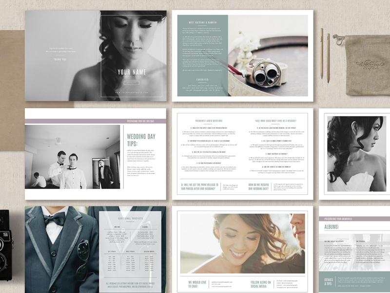 Wedding Photographer Magazine By Templates On Dribbble