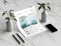 Corporate business flyers bundle