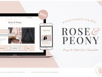 Website Template Designs on Dribbble