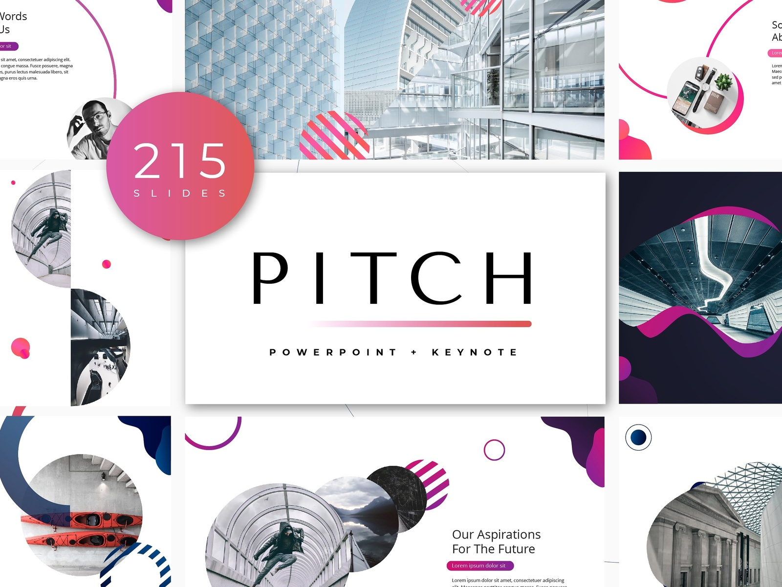 pitch powerpoint template by templates dribbble dribbble