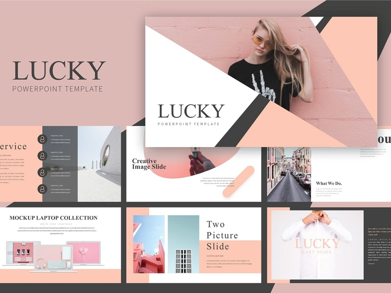 Lucky Keynote Presentation Template By Templates Dribbble Dribbble