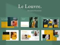 Le Louvre Presentation Powerpoint