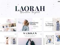 Laorah - Powerpoint Template