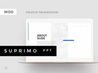 SUPRIMO PowerPoint Template + Bonus