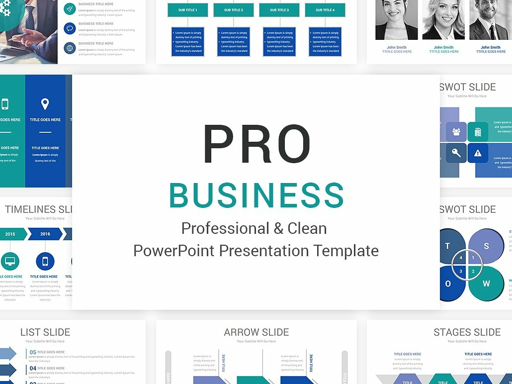 pro business powerpoint template by templates dribbble dribbble