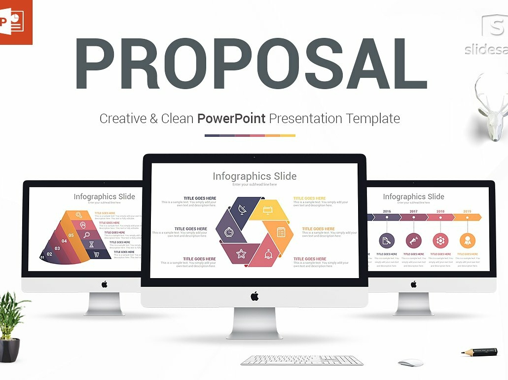 Business Proposal Powerpoint Design By Templates Dribbble Dribbble