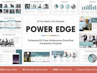 Power Edge PowerPoint Template