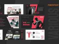 Various Gym Powerpoint